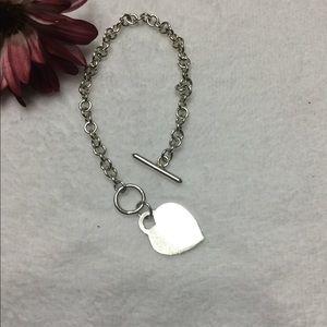 Tiffany & Co. Jewelry - Authentic Tiffany & Co. Heart Bracelet